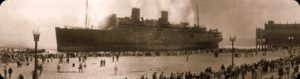 1934 S.S. Morro Castle Burns Killing 137 off Asbury Park